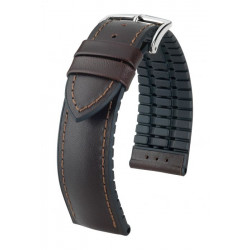 Bracelet James Hirsch Marron