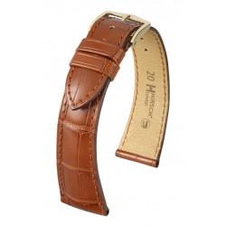 Bracelet pour montre London Hirsch goldbraun