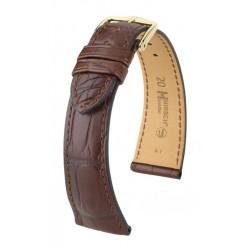 London Hirsch Watch Strap golden brown