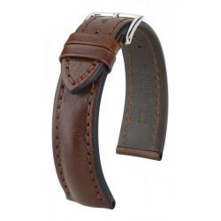 Bracelet pour montre Lucca Hirsch Marron
