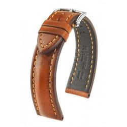 Bracelet pour montre Lucca Hirsch Miel