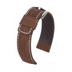 Bracelet pour montre Mariner Hirsch Brun