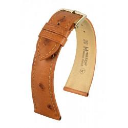 Bracelet pour montre Massai Ostrich Hirsch brun