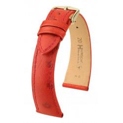Bracelet pour montre Massai Ostrich Hirsch Rouge