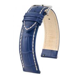 Modena Hirsch Watch Strap Blue