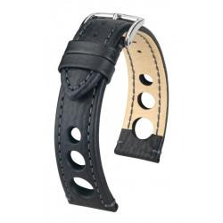Bracelet pour montre Rally Hirsch Noir