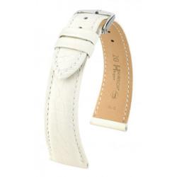 Bracelet pour montre Regent Hirsch Blanc