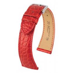 Bracelet pour montre Regent Hirsch Rouge