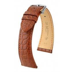 Bracelet pour montre Regent Hirsch Bordeau
