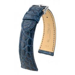 Bracelet pour montre Regent Hirsch Bleu