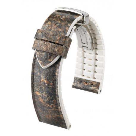 Bracelet Hirsch Stone Gris/Blanc