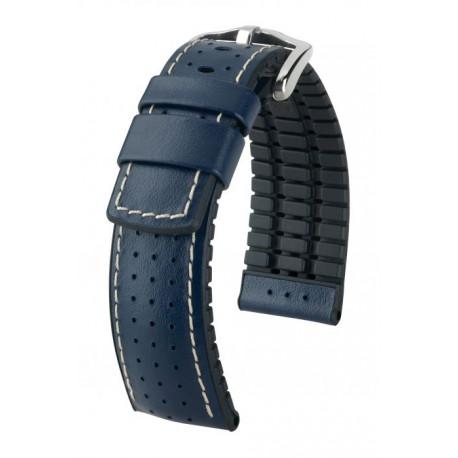 Bracelet pour montre Tiger Hirsch Bleu
