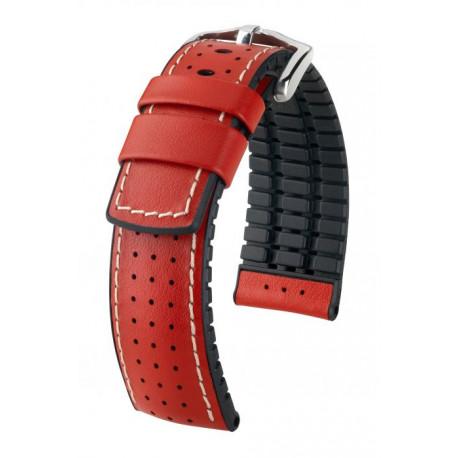 Bracelet pour montre Tiger Hirsch Rouge