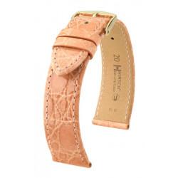 Genuine Croco Hirsch Watch Strap Rose