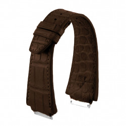 Bracelet Alligator Richard Mille par ABP - Chocolat