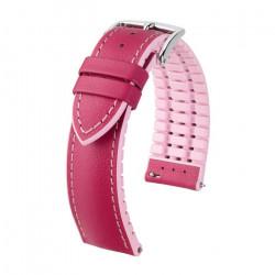 LINDSEY Hirsch Watch Strap PINK/ROSE