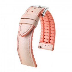 LINDSEY Hirsch Watch Strap ROSE/APRICOT