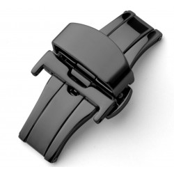 Double folding clasps stainless PVD