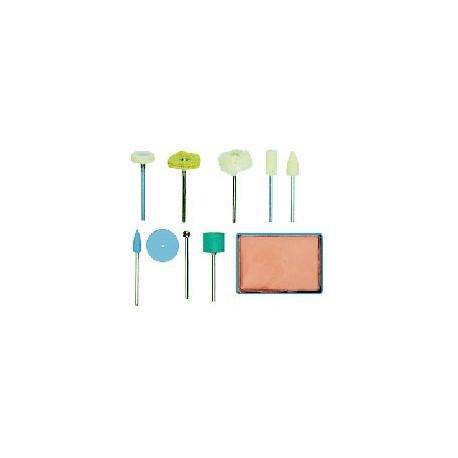 PROXXON Set de polissage complet, 10 pièces