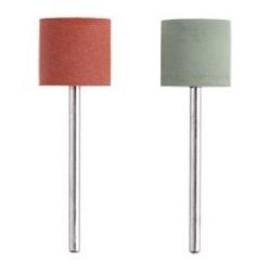 PROXXON Polissoirs élastiques en silicone cylindriques (2 pièces)