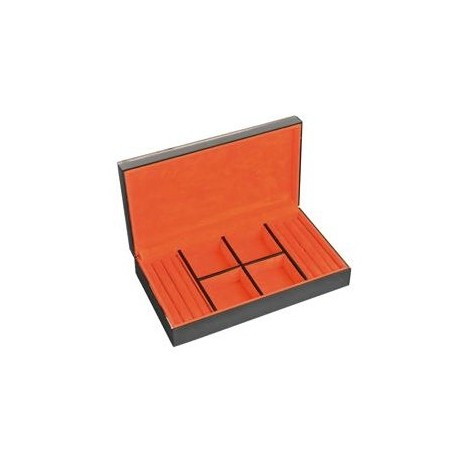 Box for 4 watches + cuff link Kronokeeper in glass