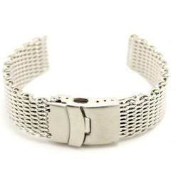 Bracelet mesh avec boucle déployante