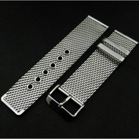 Bracelet mesh avec boucle ardillon