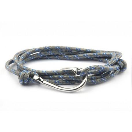 Bracelet hameçon acier Vikings