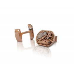 Cufflinks KronoKeeper - Omega square rose gold plated