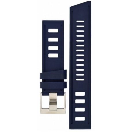 Isofrane rubber strap blue